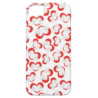 Pattern illustration peace doves with heart case for the iPhone 5