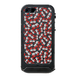 Pattern illustration peace doves with heart incipio ATLAS ID™ iPhone 5 case