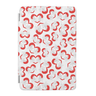 Pattern illustration peace doves with heart iPad mini cover