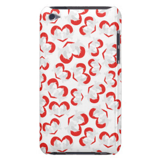 Pattern illustration peace doves with heart iPod touch case