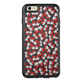 Pattern illustration peace doves with heart OtterBox iPhone 6/6s plus case