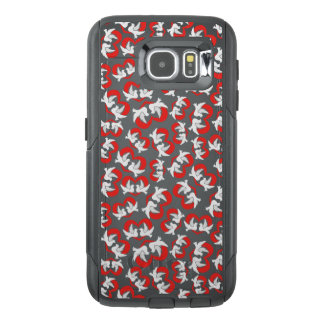 Pattern illustration peace doves with heart OtterBox samsung galaxy s6 case