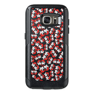 Pattern illustration peace doves with heart OtterBox samsung galaxy s7 case