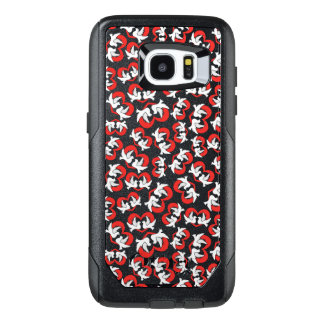 Pattern illustration peace doves with heart OtterBox samsung galaxy s7 edge case