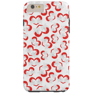 Pattern illustration peace doves with heart tough iPhone 6 plus case