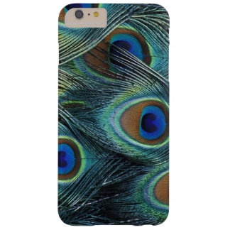 Pattern in male peacock feathers barely there iPhone 6 plus case
