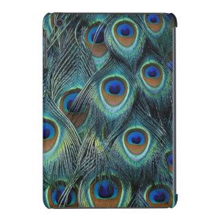 Pattern in male peacock feathers iPad mini retina cases