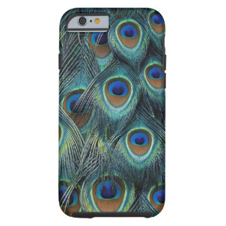 Pattern in male peacock feathers tough iPhone 6 case