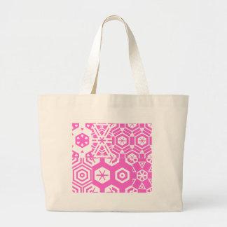 Pattern Jumbo Tote Canvas Bags