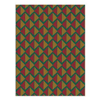 pattern K Postcard