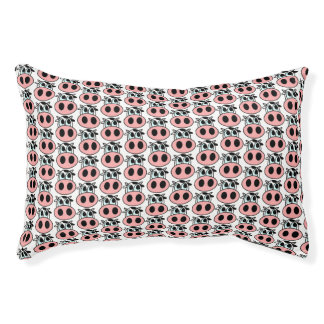 Pattern little cows Dog Bed