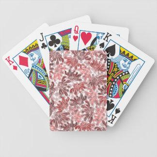 pattern M Bicycle Playing Cards