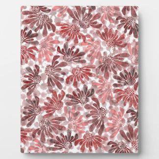 pattern M Plaque