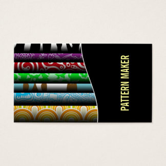 Pattern Maker Business cards