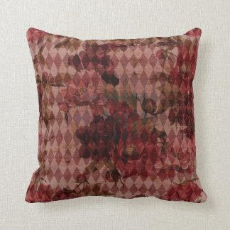 Pattern Mashup Throw Pillow