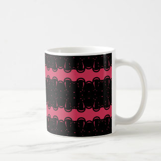 Pattern mosquito coffee mug