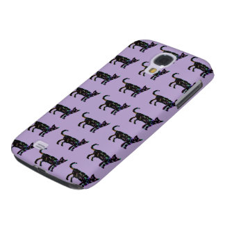 Pattern of Cats Samsung Galaxy S4 Case
