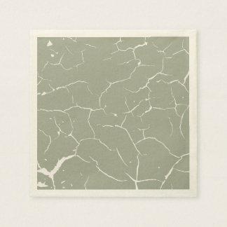 Pattern of cracks paper napkins