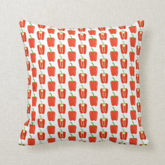 Pattern of Red Peppers Pillow