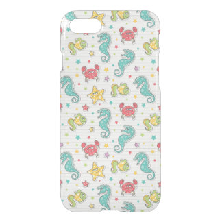 pattern of sea creatures iPhone 7 case