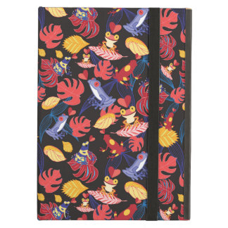 Pattern Of The Lovers Frogs Cover For iPad Air
