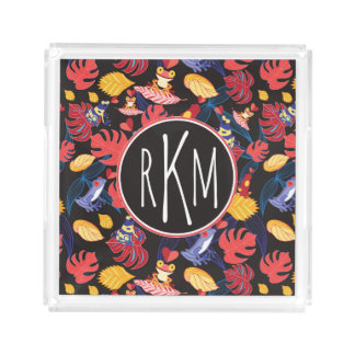Pattern Of The Lovers Frogs | Monogram