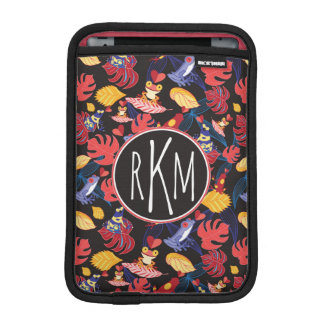 Pattern Of The Lovers Frogs | Monogram Sleeve For iPad Mini