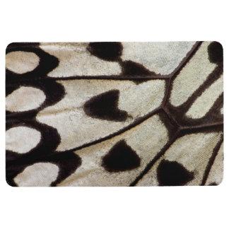 Pattern of Tropical Butterfly Floor Mat