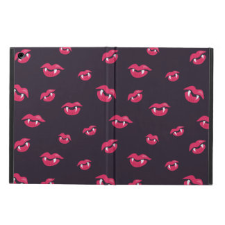 Pattern Of Vampire Mouths And Fangs Cover For iPad Air