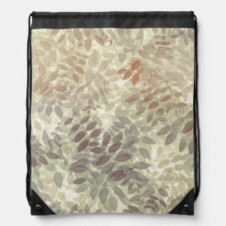 Pattern of Vetch Leaves | San Juan Islands, WA Drawstring Bag