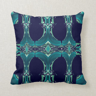 Pattern Pillow 4 Home on Teal & Navy Blue