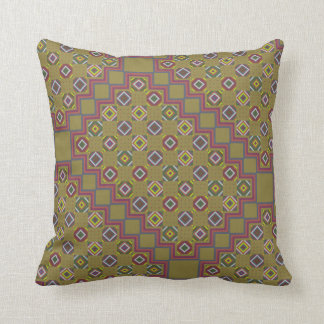 Pattern Pillow Classic Kilim Forest Bathing
