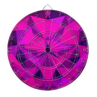 pattern pink dartboard