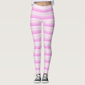 Pattern Pink♥ Leggings
