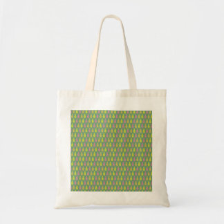 Pattern pink, yellow pineapple  Tote Bag
