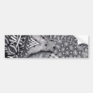 pattern play bumper sticker