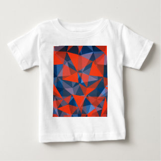 pattern red blue baby T-Shirt