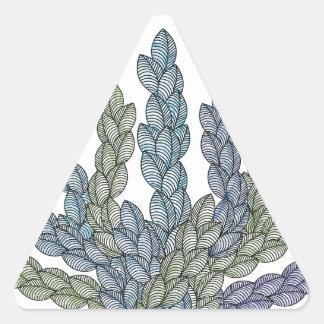 Pattern S Triangle Sticker