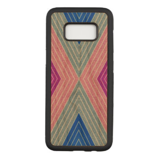 Pattern Samsung Galaxy S8 Slim Cherry Wood Case
