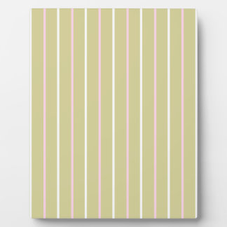 Pattern sand color with stripe pink yellow plaques