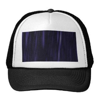 pattern serie waves 1 purple trucker hat