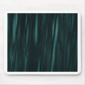 pattern serie waves 1 turquoise mousepads