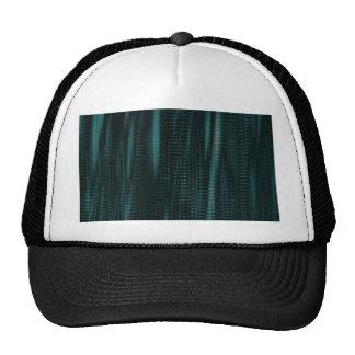 pattern serie waves 1 turquoise trucker hat