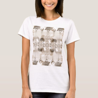 Pattern silver brown created by Tutti T-Shirt