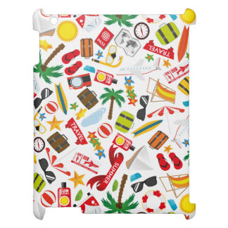 Pattern Summer holiday travel south sea Case For The iPad