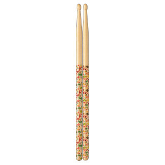 Pattern Summer holiday travel south sea Drumsticks