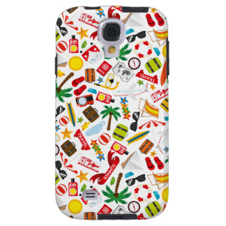 Pattern Summer holiday travel south sea Galaxy S4 Case