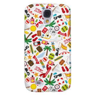 Pattern Summer holiday travel south sea Galaxy S4 Cases