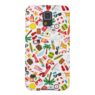 Pattern Summer holiday travel south sea Galaxy S5 Cover