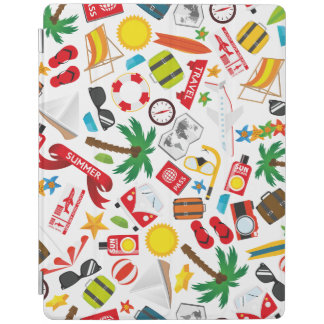 Pattern Summer holiday travel south sea iPad Cover